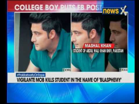 23 Year old student lynched by mob in Pakistan