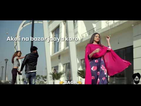 Nazar lag jayegi👈  Miland gaba   Whatsapp status lyrics video
