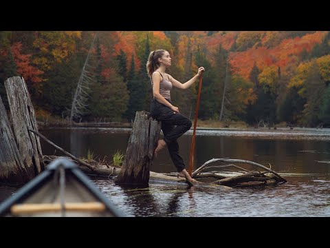 ESCAPE TO THE CABIN: Exploring Ontario's Colourful Autumn Wilderness - Canoe & Hiking Trip