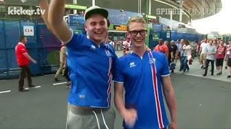 Kommentatoren-Ausraster: Island feiert das Achtelfinale