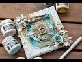 Reversed Canvas Tutorial- Mixedmedia with Finnabair products