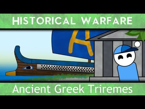 The Ancient Greek Triremes