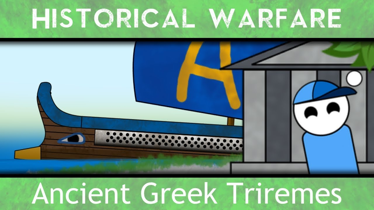 hight resolution of the ancient greek triremes