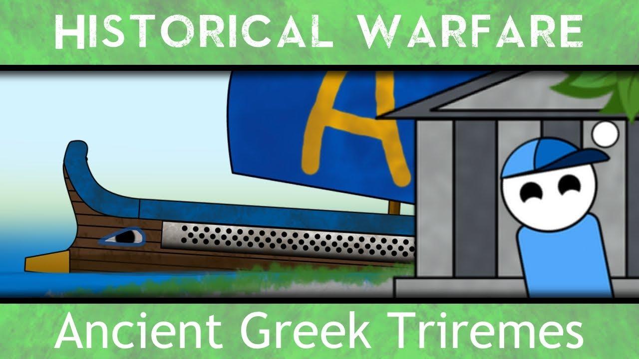 medium resolution of the ancient greek triremes