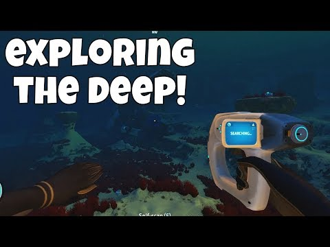 EXPLORING DEEP WITH THE SEA GLIDE! Subnautica - Episode 3