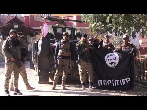 Iraq's Rapid Response Division advances in southeastern Mosul