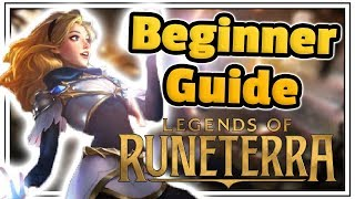 How To Play Legends Of Runeterra - Beginner Guide - League of Legends Card Game!