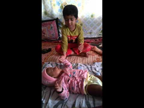 Shlok - Ye ga gai gothyat - Marathi baby song.mp4