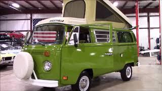 1978 Volkswagen Westifalia Green