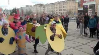 Первомайская детская демонстрация, Пермь.