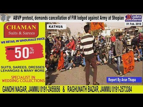 Jammu Kashmir News Round Up 01 Feb 2018