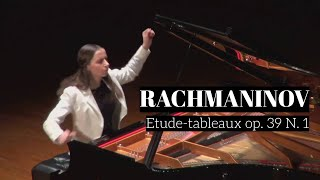 Rachmaninov Etude-tableaux op 39 No 1 in C Minor I Anna Khomichko
