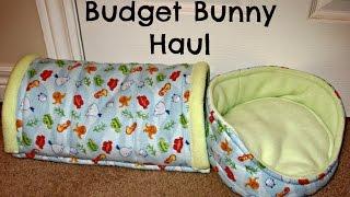 Budget Bunny Haul: Guinea Pig Beds & Busy Bunny Items