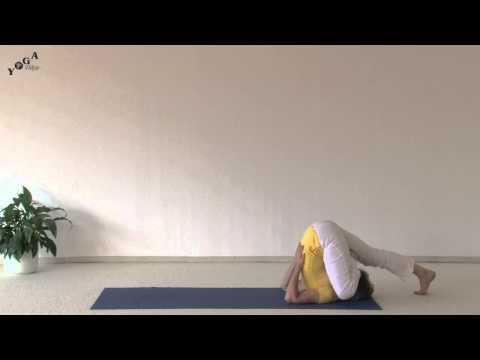 Yoga Plow with Half-Lotus Variation