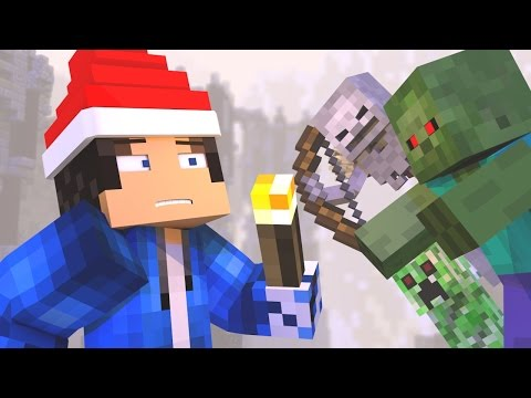 ♫ 12 NIGHTS OF SURVIVAL  A MINECRAFT CHRISTMAS SONG ♫