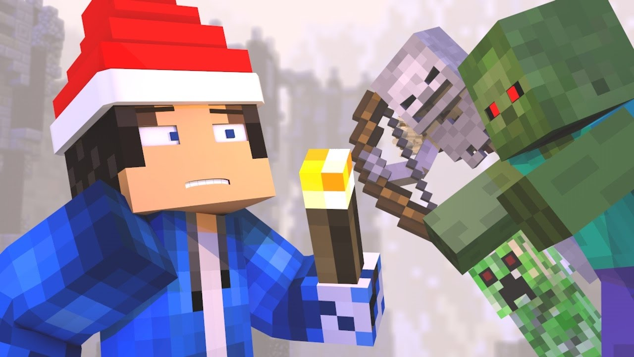 "♫""12 Nights of Survival"" - A Minecraft Christmas Song ♪"