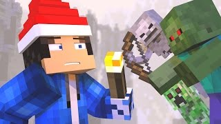 ♫ Andquot12 Nights Of Survivalandquot - A Minecraft Christmas Song ♫