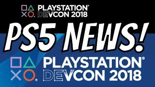 PS5 Trailer DevCon 2018 - PlayStation 5 Dev Kit Specs 4k Gameplay - PS5 Graphics Rumor