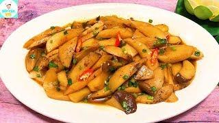 NẤM ĐÙI GÀ KHO TIÊU | Cách kho nấm thơm ngon bổ dưỡng | Bếp Của Vợ