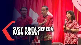 [Full] Susy Susanti Minta Sepeda Pada Jokowi