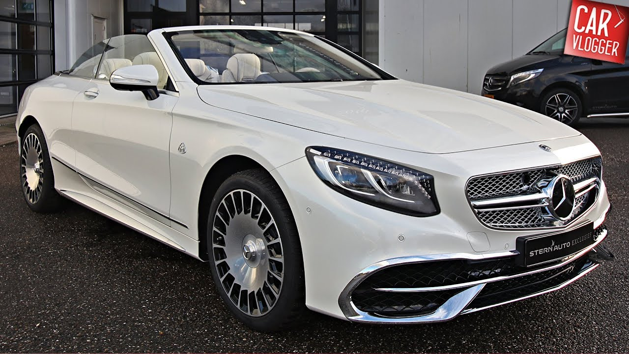 inside the new mercedes maybach s 650 cabriolet 2018 interior exterior details w revs youtube. Black Bedroom Furniture Sets. Home Design Ideas