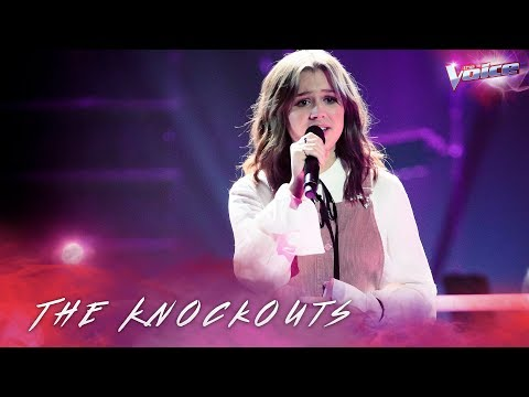 The Knockouts: Mikayla Jade sings Nobody Knows  The Voice Australia 2018
