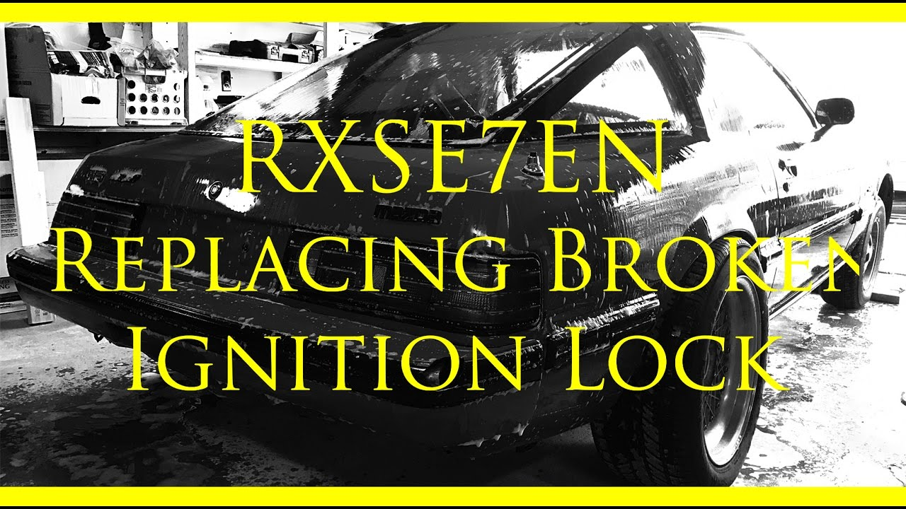 medium resolution of fb mazda rx 7 broken ignition cylinder replacement and explanation wiring diagram as well mazda rx 7 ignition coil diagram as well 1984