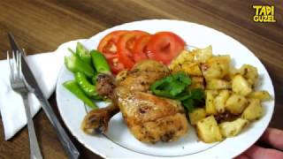 Fırında Patatesli Tavuk Baget, Yemek Tarifi, Tadı Güzel Tarifler, Chicken baguette recipe
