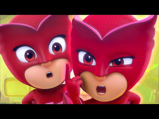 PJ Masks Deutsch Pyjamahelden Staffel 2 🌕 Romeo verwandelt sich in Eulette! 🌙 Cartoons für Kinder