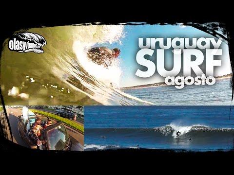 Surf Uruguay. Agosto 2014