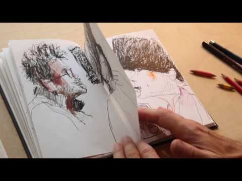 Sketchbook Tour: Felix Scheinberger