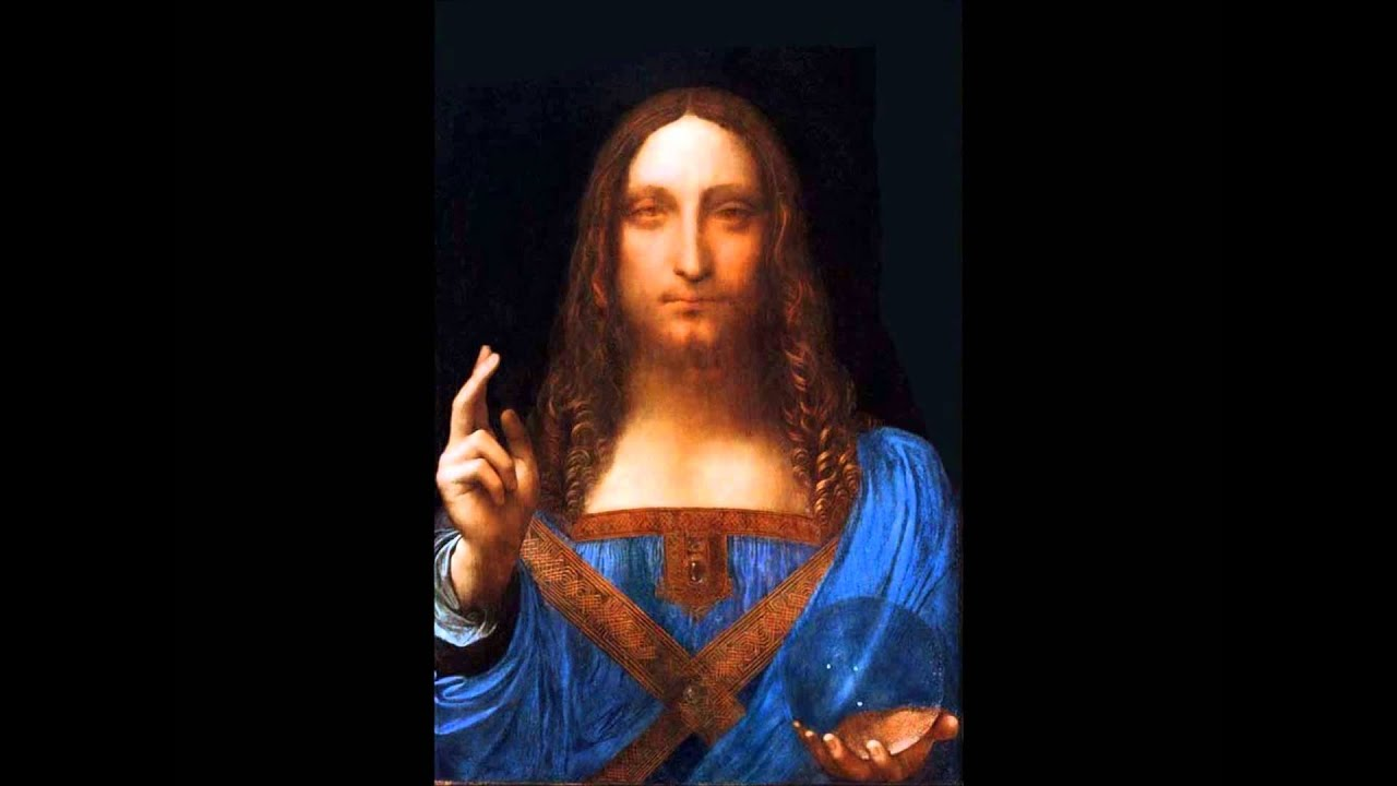 Leonardo Da Vinci Salvator Mundi >> Opus Salvator Mundi a Magistro Leonardo da Vinci - YouTube