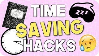 Time Saving Hacks for School! Hacks for Students!