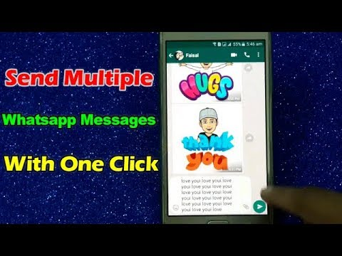 Send Multiple Whatsapp Messages With One Click Text Repeater To Send You...