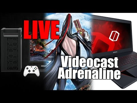 Videocast AO VIVO: Notebook gamer da Samsung, Game Mode e Bayonetta no PC - AO VIVO às 19h!