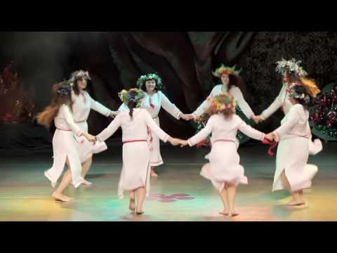 Школа танца АРИАДНА | Хоровод на Ивана Купала | Концерт 2013