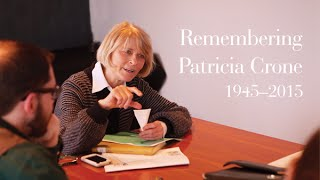 Remembering Patricia Crone (1945–2015)