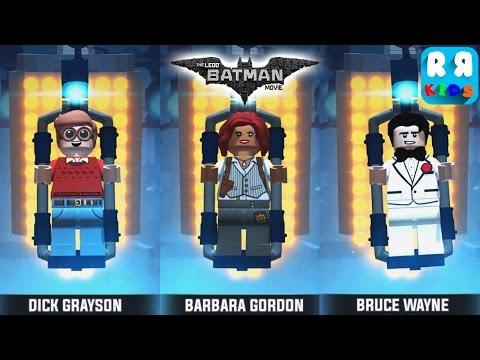 The LEGO Batman Movie Game - Dick Grayson, Barbara Gordon and Bruce Wayne Part 29