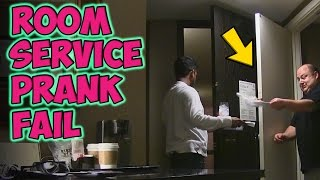 Room Service Prank Fail