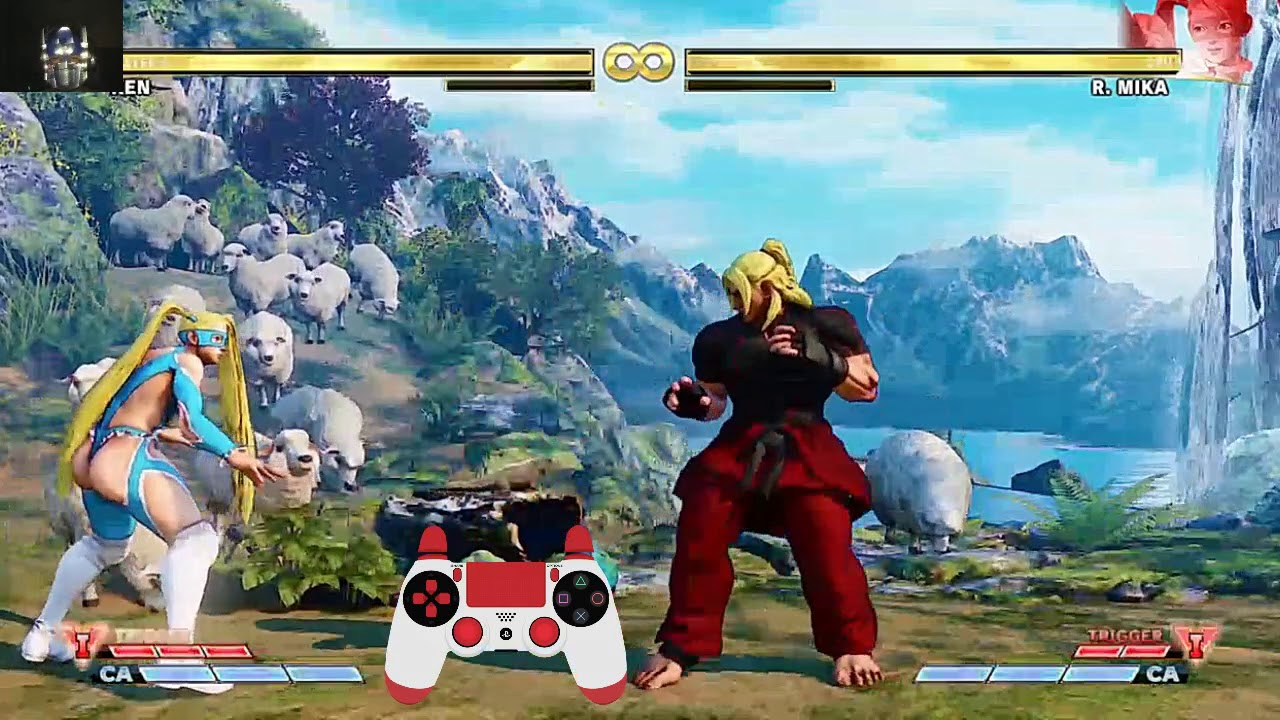Street Fighter V Ken Skills With Ps4 Controller Guide Youtube