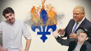 Les désastreuses aventures des canadiens français hors Québec - Tabou #18