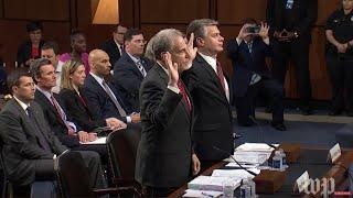 Senate hearing to review Justice Department's FBI findings