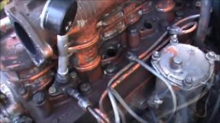 Проверка компрессии дизельного двигателя Д 240-245...(Переделываем форсунку под компрессометр,проверяем компрессию на дизеле Д 240...245..., 2016-06-04T10:35:19.000Z)