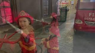 Một ngày thử làm Lính Cứu Hoả cùng gia đình Lý Hải Minh Hà