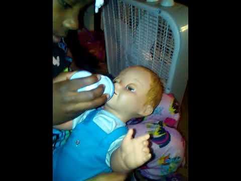 Luvabella doll play
