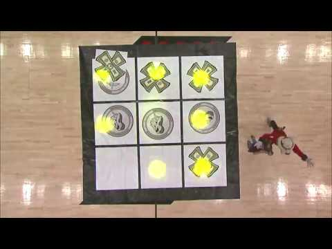Trail Blazers Fans Play the Worst Tic-Tac-Toe Game of All Time