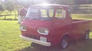 Antique Ford Econoline Truck Van