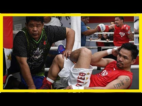 Breaking News | Pacquiao enters camp ahead of world title fight with Matthysse