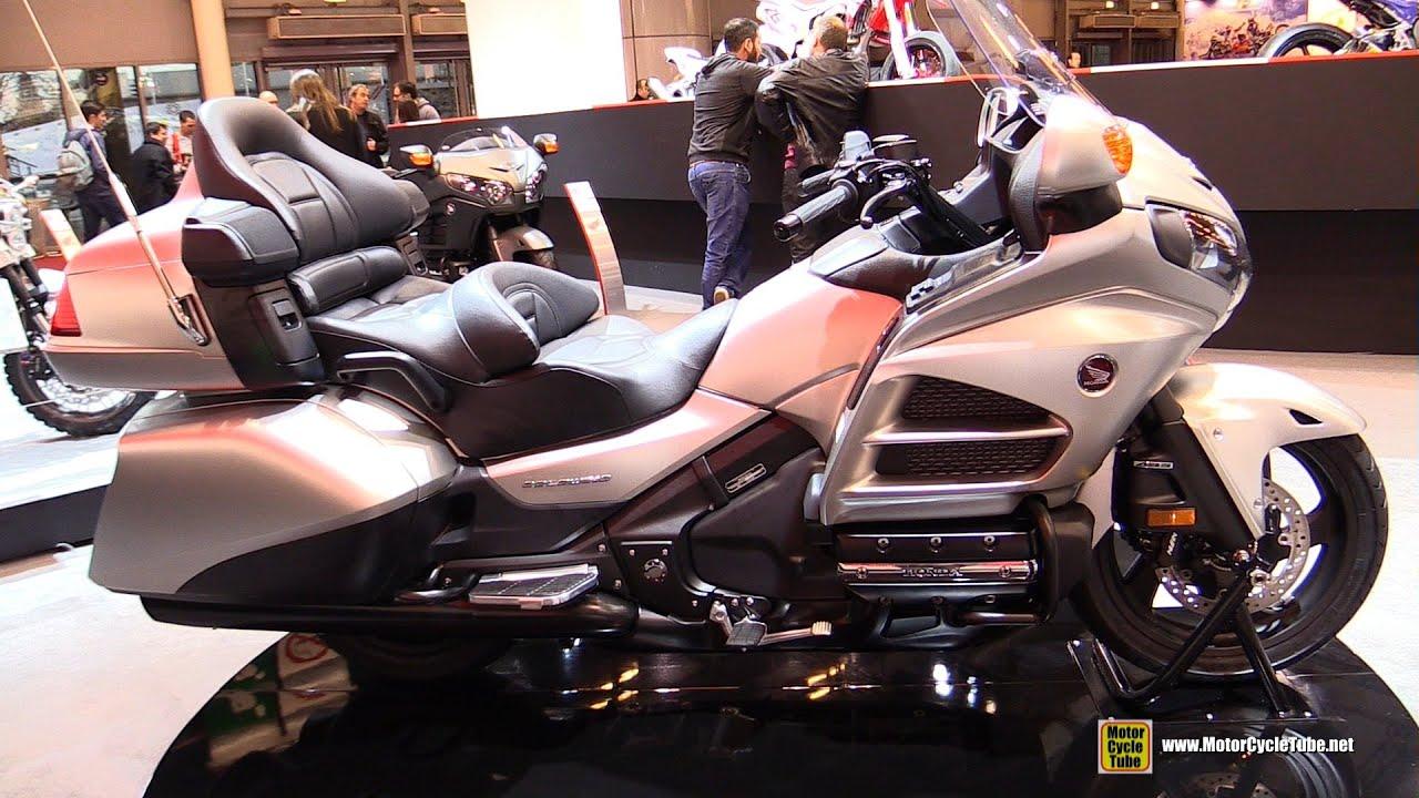 2016 honda goldwing walkaround 2015 salon de la moto paris youtube. Black Bedroom Furniture Sets. Home Design Ideas