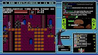 Castlevania 1 the dumb platformer I hate reviewed